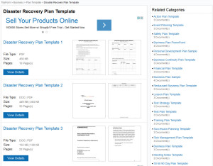 Disaster-Recovery-Plan-Templates