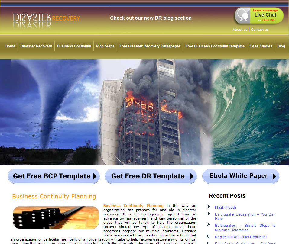 Business continuity management resources stay in business disaster recovery flashek Images